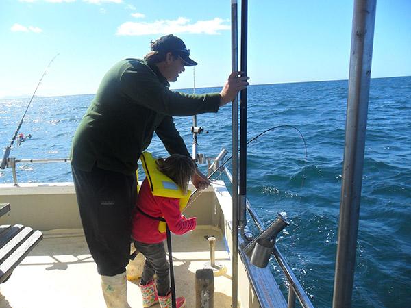 reef fishing trip